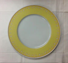 """HUTSCHENREUTHER """"ALEO PUNTO"""" YELLOW DINNER PLATE 10 3/4"""" PORCELAIN NEW  GERMANY"""
