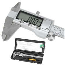 "150mm 6"" LCD Digital Vernier Caliper Electronic Gauge Micrometer Precision K1L8"
