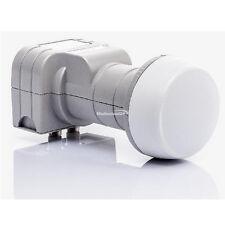 Fuba TWIN LNB Dek 206 satélite LNC dek206 Full HD 3d 4k 2 USUARIOS