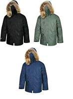 Valley Apparel Men's N3B Snorkel Winter Parka Made in the USA
