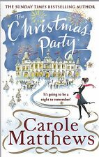 The Christmas Party by Carole Matthews, Book, New (Paperback)