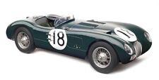 Jaguar C-Type #18 Le Mans Winner 1953 1:18 CMC M-195