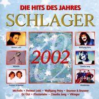 Schlager 2002-Die Hits des Jahres Helmut Lotti, Michelle, Vikinger, DJ .. [2 CD]