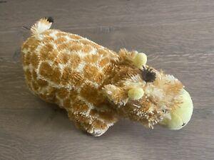 "Jolly Giraffe PeeWee Pillow Pets Stuffed Animal Plush 12"" Very Soft EUC"