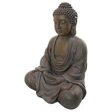 "Large Sitting Buddha Statue Decor 26"" Outdoor Garden Zen Spiritual Yoga Figure"