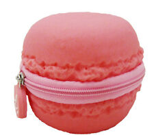 The Original Scented Pink Strawberry Macaron Macaroon Coin Purse - Unique Gift