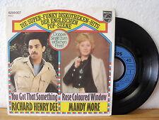 "7"" Single - RICHARD HENRY DEE / MANDY MORE / ELLIE - FUNK-DISCO - 1975 unplayed!"