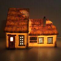 Vintage 1986 Department 56 Bob Cratchit Tiny Tim Christmas Village House Carol