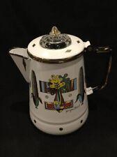 Great Georges Briard Porcelain Mid Century Coffee/Tea Pot B2