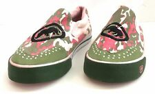Red By Marc Echo Camo Canvas Slip On, Sz 6
