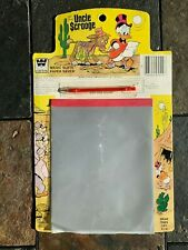 VINTAGE UNCLE SCROOGE MAGIC SLATE 1981 ITEM #3958-15