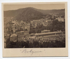 VINTAGE ALBUMEN VIEW OF BOLOGNA, ITALY.