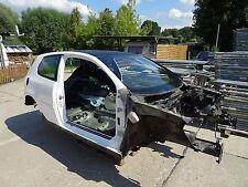 VW GOLF 5 V GTI KAROSSE KAROSSERIE WEIß + BRIEF Leer Roh 2006 TÜV Rohkarosse