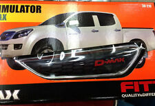 FOR NEW ISUZU D-MAX DMAX 2012 FITT CHROME BLACK LH+RH SIDE VENT SIDE DOOR COVER