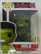 Funko Pop Avengers Age of Ultron Gamma Glow Hulk Vinyl Bobble-head Figure 10cm