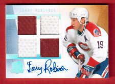 2009-10 UD THE CUP CUP FOUNDATIONS 2 CLR	#CF-LR 8/10 LARRY ROBINSON MONTREAL CAN