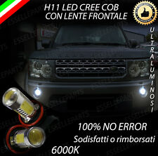 COPPIA LAMPADE FENDINEBBIA H11 LED CREE COB CANBUS LAND ROVER DISCOVERY III