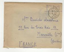 FM Algérie Poste aux Armées  cachet 1956 EL AFFROUN Alger sur lettre /L810
