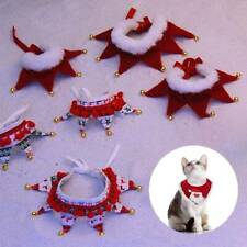 Pet Cat Dog Puppy Christmas Xmas Santa Costume Apparel Jumper Gift Necklace New