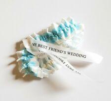 VINTAGE MY BEST FRIEND'S WEDDING MOVIE PROMO GARTER - JULIA ROBERTS TIFFANY BLUE