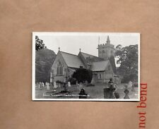 Crosby Ravensworth Cumbria St Lawrences church real photo posted 1935 XC1