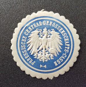 Siegelmarke Vignette Preussische Central - Genossenschafts - Casse (7680-2)