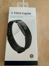 Fitbit Inspire Fitness Tracker-(S & L Bands Included)-New-Free Us Shipping!