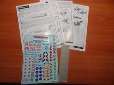 Begemot Decals 48002 1/48 Mikoyan MiG-21 Fishbed Family Decal Set