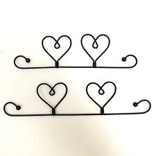 "Quilt Hanger Twisted Wire 10"" or 12"" Craft Hanger"