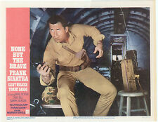 NONE BUT THE BRAVE Lobby Card #6 - CLINT WALKER