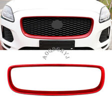Front Centre Grill Grille Frame Cover Trim For Jaguar E-PACE 2018-2019 Red