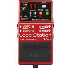 BOSS RC3 Loop Station Pedal - Free Delivery