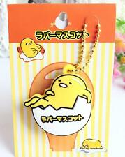 Gudetama egg shell silica gel Key Met Protective Cover anime key ornament