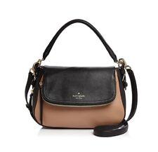 Kate Spade New York Cobble Hill Deva Crossbody Bag Hazel/Black/Gold Hardware