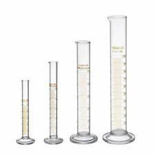 Measuring Graduated Cylinder Laboratory Equipment Glass Chemistry Test Tube Set