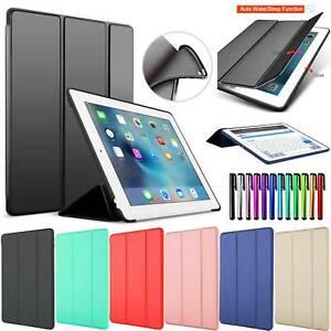 """For iPad Mini 5th 6th 9.7"""" Air Pro 10.5 7th 10.2"""" Smart Soft Silicone Case Cover"""