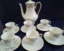 Servizio tazzine caffè BAREUTHER 100 JAHRE porcellana  vintage