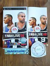NBA LIVE 08 SONY PLAYSTATION PSP PAL COMPLETO