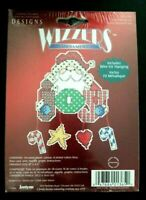 Janlynn Santa Brings Joy Wizzers Cross Stitch Ornament Kit Christmas NIP