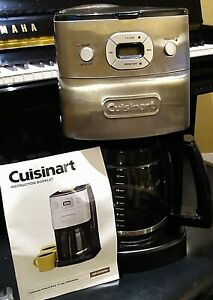 Cuisinart DGB-625BC Grind and Brew 12-Cup Coffee Maker Refurbished GORGEOUS!