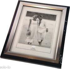 "BULK 6 Picture Photo 8"" x 10"" Frame Certificate Frames Black/Silver (p2)"