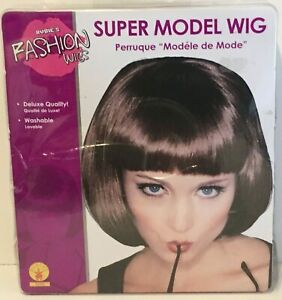 Rubie's Official Adult's Super Model Wig Auburn - One Size - Rubies Adults