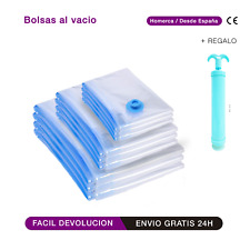 BOLSA AL VACIO ROPA  LOTE 8 10 12 15  CON BOMBA REGALO ORGANZIADOR DE ROPA