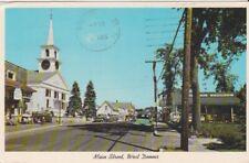 50's Street Scene-Main Street-WEST DENNIS, Massachusetts