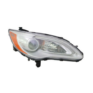 NEW PASSENGER HEADLIGHT FITS CHRYSLER 200 TOURING 2011 2012 2013 2014 5182590AC