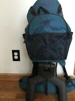 EVENFLO Trailtech Baby Toddler Child Hiking Backpack Carrier Stand Hiking Bag