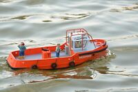 PREMIUM LINE - KYMODELS Mooring Tug 1:32 Model Boat Assembly Kit