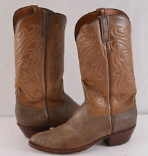 LUCCHESE Men's ARMADILLO Western Cowboy Boots Size 9