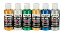 Createx kit 6 colori perlati 60 ml per aerografo (115399)