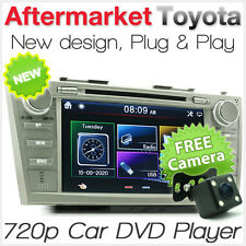 "8"" Car DVD USB Player For Toyota Aurion Camry Stereo Radio Head Unit ACV40R AT"
